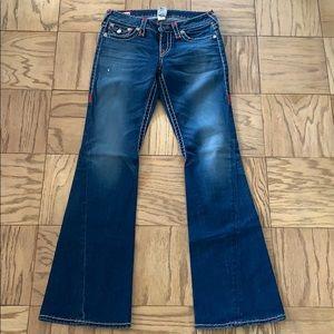 True Religion Joey Super T Jeans Size 28